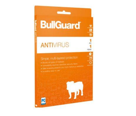 BullGuard Antivírus para 01 dispositivo para 02 anos