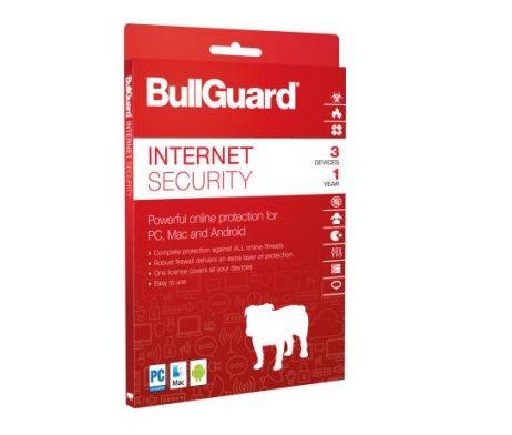 BullGuard Internet Security para 03 dispositivos para 02 anos