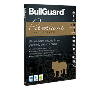 BullGuard Premium Protection para 10 dispositivos para 01 ano