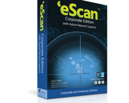 eScan Corporate Edition (with Hybrid Network Support) para 05 usuários para 01 ano