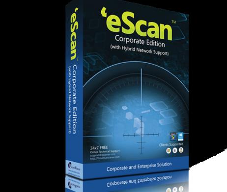 eScan Corporate Edition (with Hybrid Network Support) para 05 usuários para 01 ano