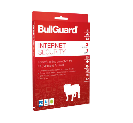 BullGuard Internet Security para 05 dispositivos para 03 anos
