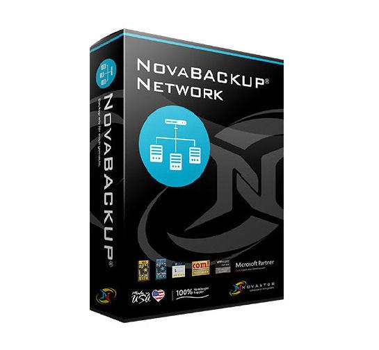 NovaBACKUP® Network para 01 servidor